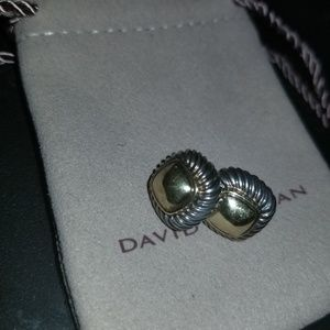 David Yurman 925/585 stud